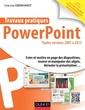 Couverture de l'ouvrage Travaux pratiques avec PowerPoint