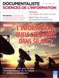 Couverture de l'ouvrage Revue documentaliste, Sciences de l'information, vol 50, n°4, décembre 2013