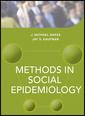 Couverture de l'ouvrage Methods in Social Epidemiology