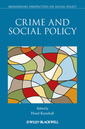 Couverture de l'ouvrage Crime and Social Policy