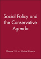 Couverture de l'ouvrage Social Policy and the Conservative Agenda