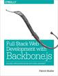 Couverture de l'ouvrage Full Stack Web Development with Backbone.js