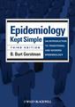Couverture de l'ouvrage Epidemiology Kept Simple