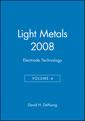 Couverture de l'ouvrage Light Metals 2008