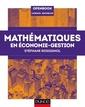 Couverture de l'ouvrage Mathématiques en économie-gestion