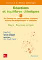 Couverture de l'ouvrage Réactions et équilibres chimiques - Volume 1