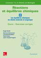 Couverture de l'ouvrage Réactions et équilibres chimiques - Volume 2