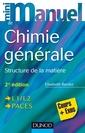 Couverture de l'ouvrage Mini Manuel de Chimie générale