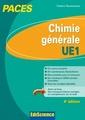 Couverture de l'ouvrage Chimie générale UE1
