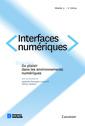 Couverture de l'ouvrage Interfaces numériques Volume 3 N° 1/Janvier-Avril 2014
