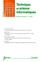 Couverture de l'ouvrage Technique et science informatiques RSTI série TSI Volume 33 N° 3/Mars-Avril 2014