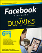 Couverture de l'ouvrage Facebook All-in-One For Dummies