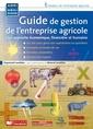 Couverture de l'ouvrage Guide de gestion l' entreprise agricole.