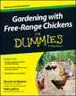 Couverture de l'ouvrage Gardening with Free-Range Chickens For Dummies