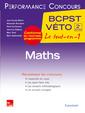 Couverture de l'ouvrage Maths 2e année BCPST-VÉTO