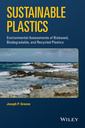 Couverture de l'ouvrage Sustainable Plastics