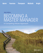 Couverture de l'ouvrage Becoming a Master Manager