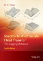 Couverture de l'ouvrage Macro- to Microscale Heat Transfer