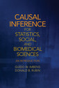 Couverture de l'ouvrage Causal Inference for Statistics, Social, and Biomedical Sciences
