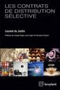 Couverture de l'ouvrage Les contrats de distribution sélective