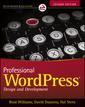Couverture de l'ouvrage Professional WordPress