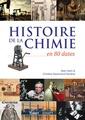 Couverture de l'ouvrage Histoire de la chimie en 80 dates