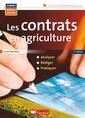 Couverture de l'ouvrage Les contrats en agriculture