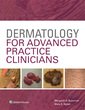 Couverture de l'ouvrage Dermatology for Advanced Practice Clinicians