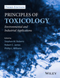 Couverture de l'ouvrage Principles of Toxicology