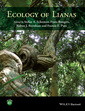 Couverture de l'ouvrage Ecology of Lianas