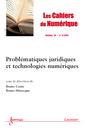 Couverture de l'ouvrage Les Cahiers du Numérique Volume 10 N° 2/Avril-Juin 2014