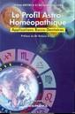 Couverture de l'ouvrage Profil astro-homeopathique