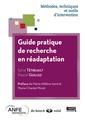 Couverture de l'ouvrage Guide pratique de recherche en réadaptation