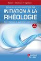 Couverture de l'ouvrage Initiation à la rhéologie (4° Éd.)