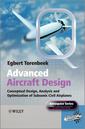 Couverture de l'ouvrage Advanced Aircraft Design