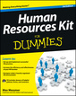 Couverture de l'ouvrage Human Resources Kit For Dummies