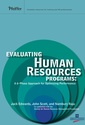 Couverture de l'ouvrage Evaluating Human Resources Programs