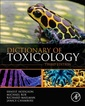 Couverture de l'ouvrage Dictionary of Toxicology