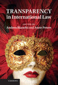 Couverture de l'ouvrage Transparency in International Law