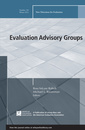 Couverture de l'ouvrage Evaluation Advisory Groups