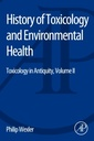 Couverture de l'ouvrage History of Toxicology and Environmental Health