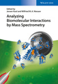 Couverture de l'ouvrage Analyzing Biomolecular Interactions by Mass Spectrometry