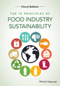 Couverture de l'ouvrage The 10 Principles of Food Industry Sustainability