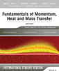 Couverture de l'ouvrage Fundamentals of Momentum, Heat and Mass Transfer