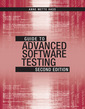 Couverture de l'ouvrage Guide to Advanced Software Testing