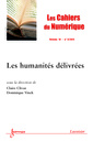 Couverture de l'ouvrage Les Cahiers du Numérique Volume 10 N° 3/Juillet-Septembre 2014