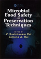 Couverture de l'ouvrage Microbial Food Safety and Preservation Techniques