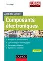 Couverture de l'ouvrage Aide-mémoire des composants électroniques
