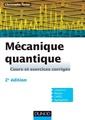 Couverture de l'ouvrage Mécanique quantique