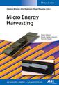 Couverture de l'ouvrage Micro Energy Harvesting